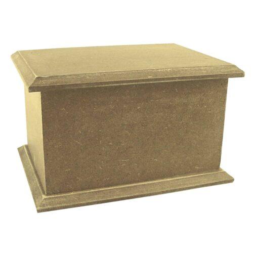 Urna para cinzas animais Box Econômica na cor natural