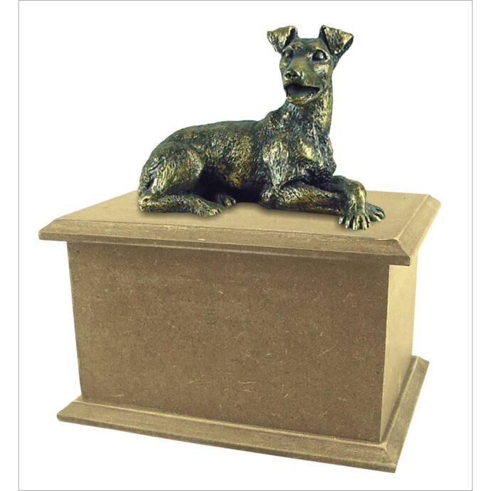 Urna para cinzas Box Econômica com miniatura
