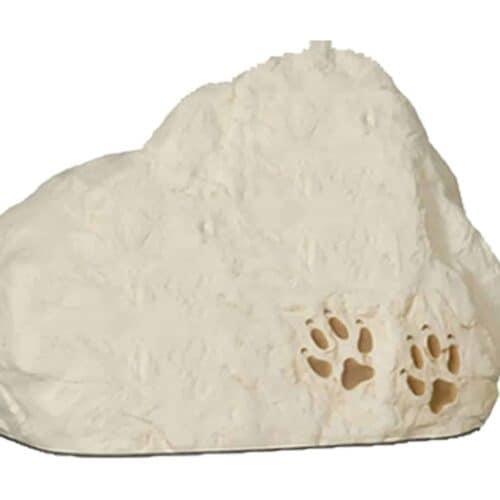 Urna para cinzas de animais Pedra Econômica