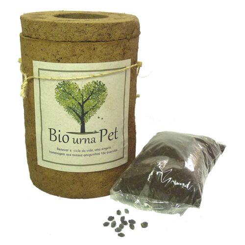 Biourna EcoPets: urna ecológica para cinzas de animais